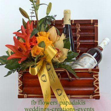 Συνθέσεις με κρασιά και ποτά