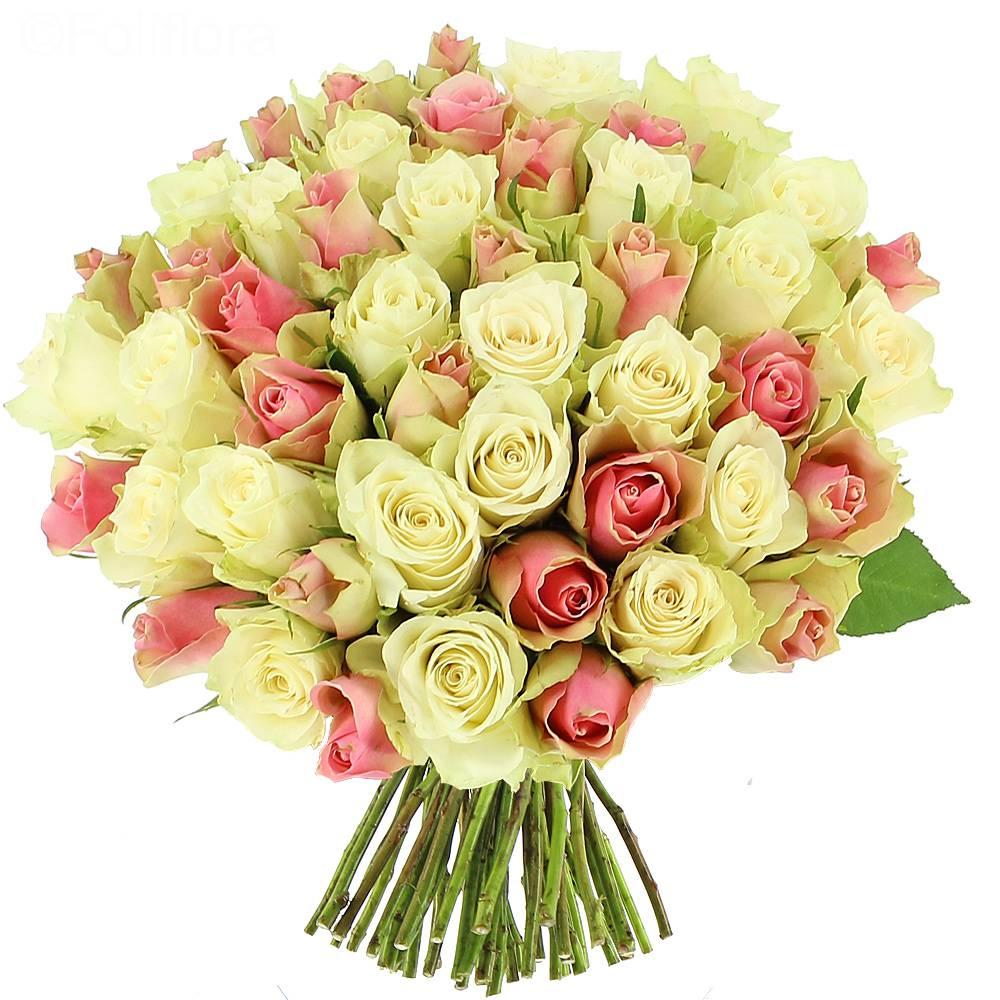 bouquet-roses pink-white 3 ΕΡΑΤΩ