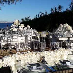 Luxury White Wedding at Athens Riviera Island   Γάμος  στο Island Αθήνα