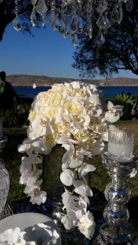 Luxury White Wedding at Athens Riviera Island