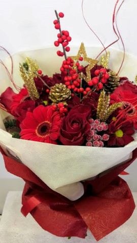 christmas bouquet 2 (Mobile)