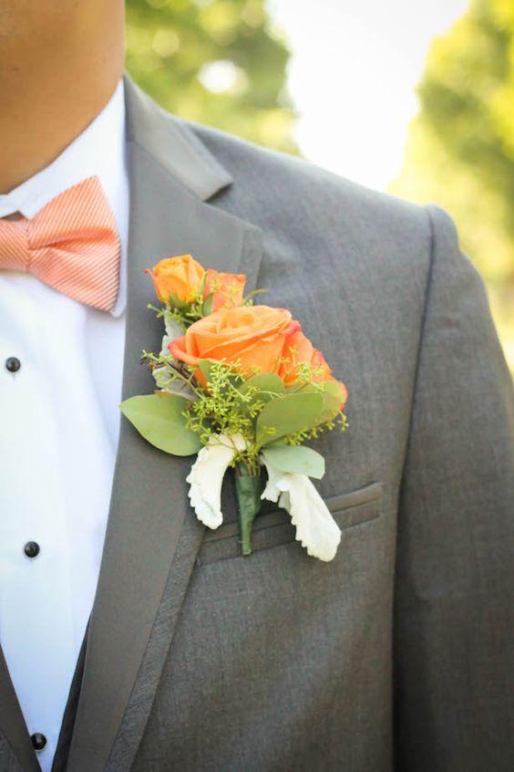 Μπουτονιέρες γάμου Flowers Papadakis est 1989 www.flowers4u.gr