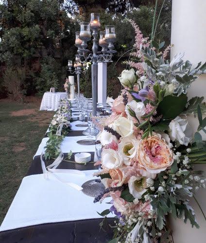γάμος με τριαντάφυλλα κήπου