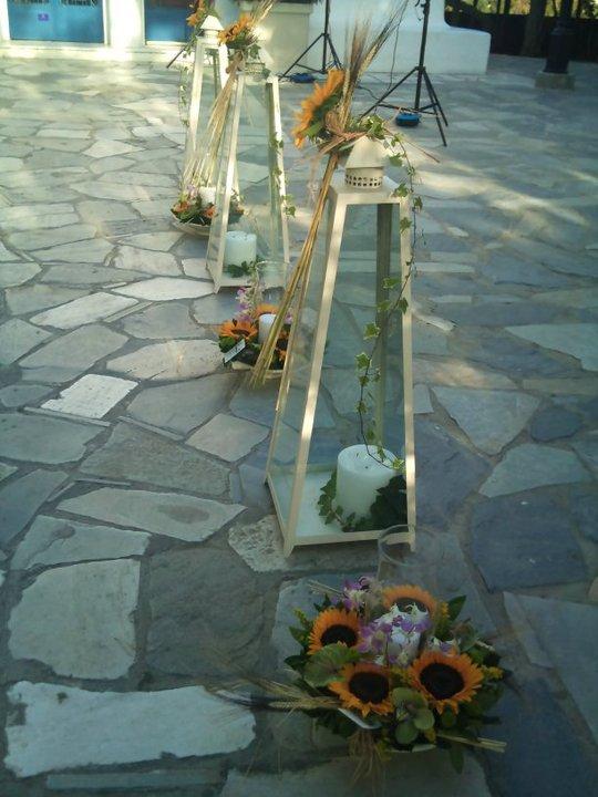 διακόσμηση εξωτερικου χώρου Αγιος Γεωργιος Καβουρι 8