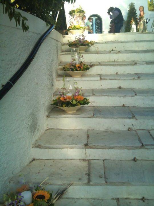 διακόσμηση εξωτερικου χώρου Αγιος Γεωργιος 7Καβουρι