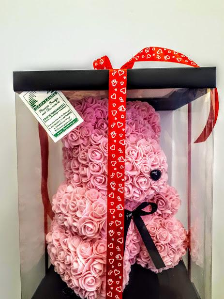 rose teddy bear pink 1