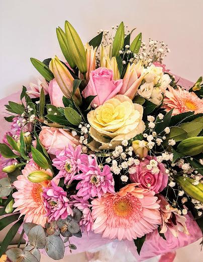 pink queen luxury bouquet