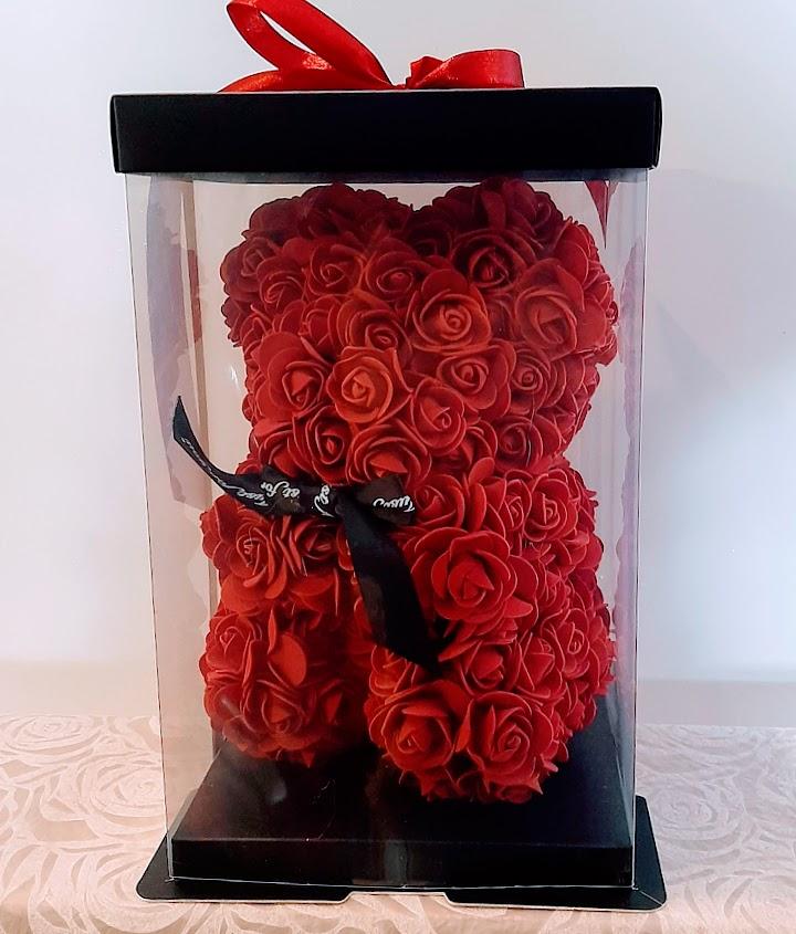 love rose bear cm 25 red