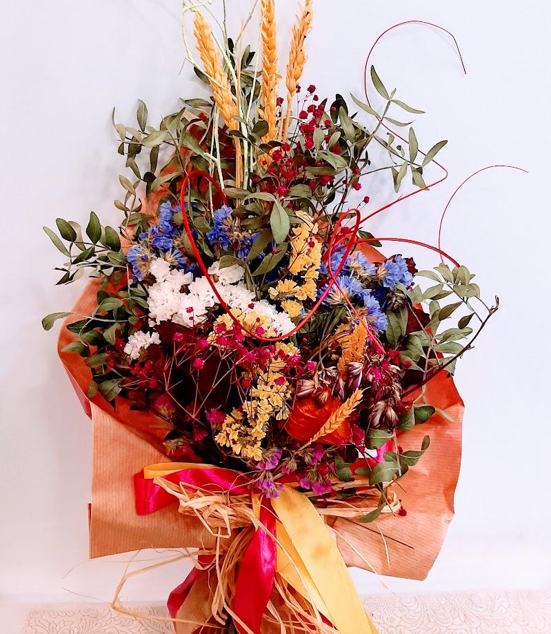 dried bouquet Flowers Papadakis